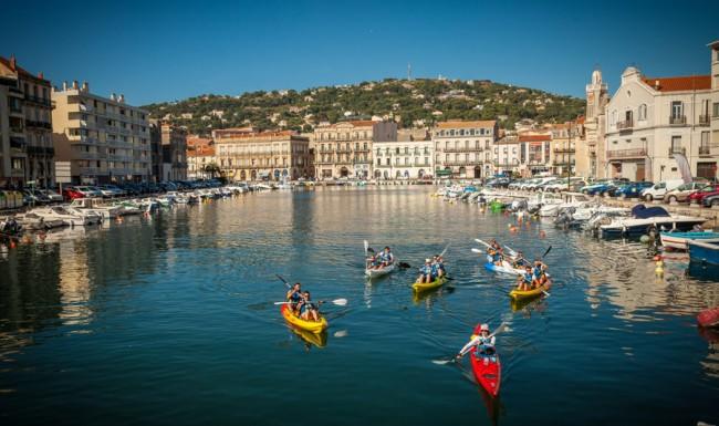 Découvrez sete en kayak de mer