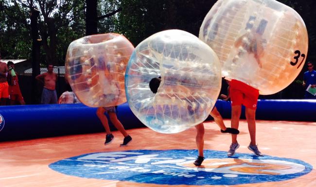 bulles gonflables séminaire entreprise eventsmed