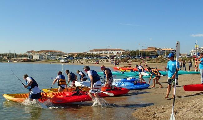 Kayak de mer séminaire entreprise eventsmed